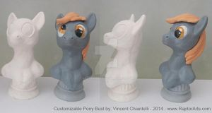 MLP FIM - Customizable Statue - Now Available by RaptorArts