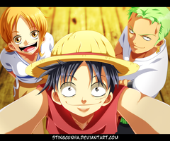 One Piece coloring by StingCunha