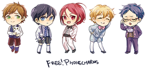 Free phone charms by b-snippet
