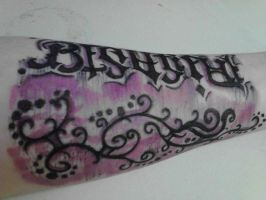 Arm Tattoo Modified by MoonlitDisaster