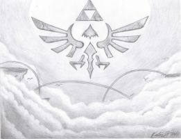 The Hylian Crest by Smash45