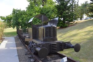 Old locomotive WHITCOMB by A1Z2E3R