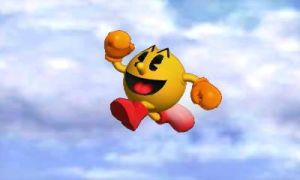 Pac-Man just wanting to fly by sonicgoku24