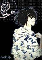 Death note L by demons-stone