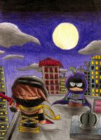 The Ninja of the Night by Sonicbandicoot