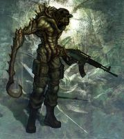 Infected Soldier by chrislazzer