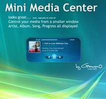 CDArtDisplay Mini MediaCenter by gamepr0