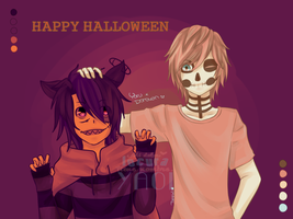 Happy Halloween! by Dashi02Kagami