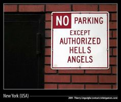 Authorized Hells Angels, NYC by ShiniGAMERS