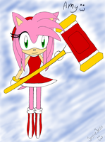 Amy Rose by HoneyFuckingLicious