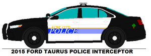 Acre City Police Ford Taurus by MisterPSYCHOPATH3001