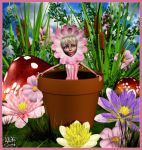 flower pots by Art-by-Lully