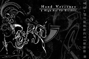 Hand Vectors by T7-Productions