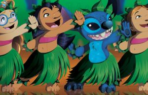 He Mele no Lilo...and Stitch by StamayoStudio
