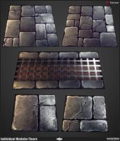 Modular Dungeon Floor Breakdwn by JeremiahBigley