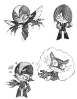 Request: Black Cuervo sketchs by Syrie-Marufuji