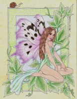 Flower Faeries: Ivy by LuthienNightwolf