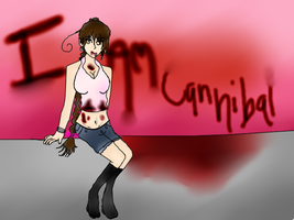 Female Hyun I am Cannibal by AskHyun-kiNKorea