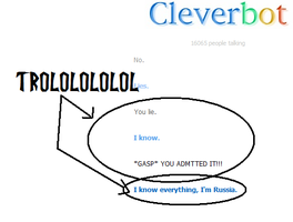 Trying Cleverbot- TROLOLOLOLOL by DibFan4LifeX3
