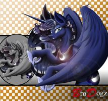 Commission : Princess Luna - Next Level Asset by BroDogz