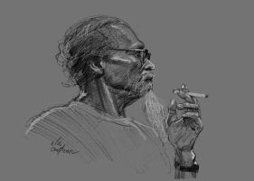 daily sketch 1172 by nosoart