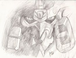 GaoGaiGar sketch by MaximumOverdrive