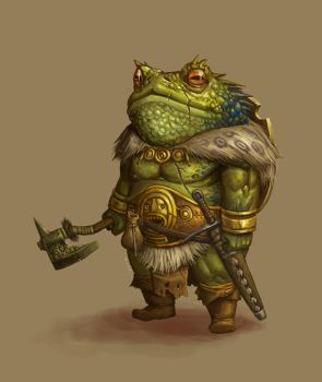 CONCEPT : Toad warrior by Ancorgil