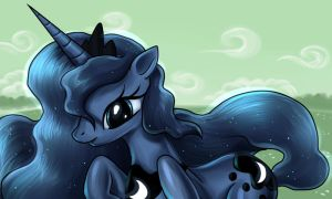 Princess Luna by alexmakovsky