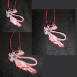 Mew: Pokemon Necklace by Hallow-Quinn