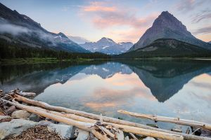 .:Swiftcurrent Lake:. by RHCheng