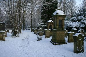 Winter cemetery stock 08 by Malleni-Stock