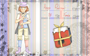 Pastel Circus App:Anya Povloski by Neon-Fizz