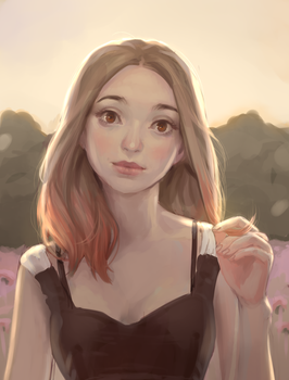 Lady Commission by Mireys