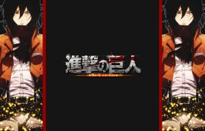 Shingeki no Kyojin FFSng Background for Amber by Ouressi-Hime