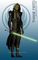 StarWars MassEffect Crossover Thane Fisto by rs2studios