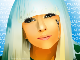 Lady Gaga Vector by ndop