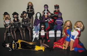 Contest Entry: Miss J Kidnaps the DC Universe! by alleghany71
