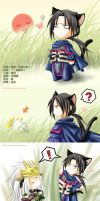 A story of Kitten and Puppy I by Setomi