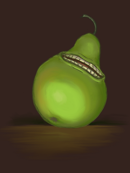 Pear Almighty by EnzymeDevice