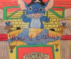 World Of Disney Drawing by chloesmith8