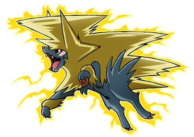 Yo Mega Manectric! by SoftMonKeychains