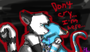 Don't Cry... I'm Here... by BBSMJ