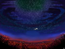 Stargazing by L-upo