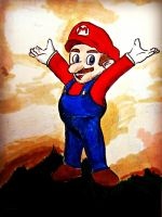 It's Mario by sudorlais