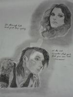 Andy Biersack and Juliet Simms by xxdaswarwohlnix