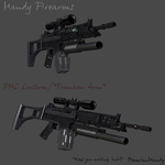 FNC Modded Assault Rifle by DamianHandy
