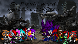 The Parallel World Poster  by LeonTheSnowWolf