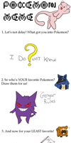 Pokemon Meme............ ok by distantShade