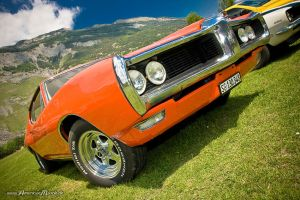 orange pontiac by AmericanMuscle
