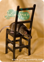 A Chair For Mousey by JuliaGraceArts